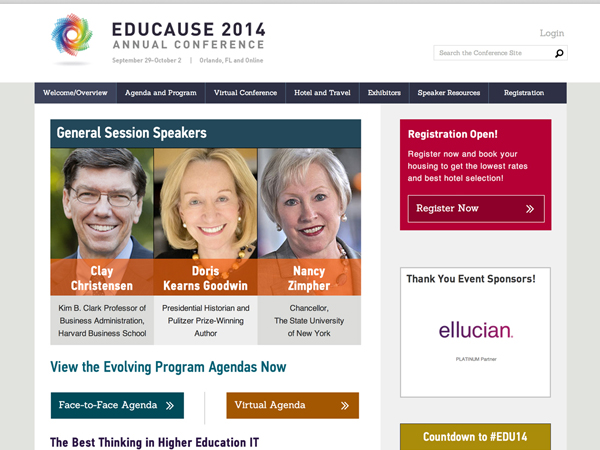 EDUCAUSE Annual Conference Redesign